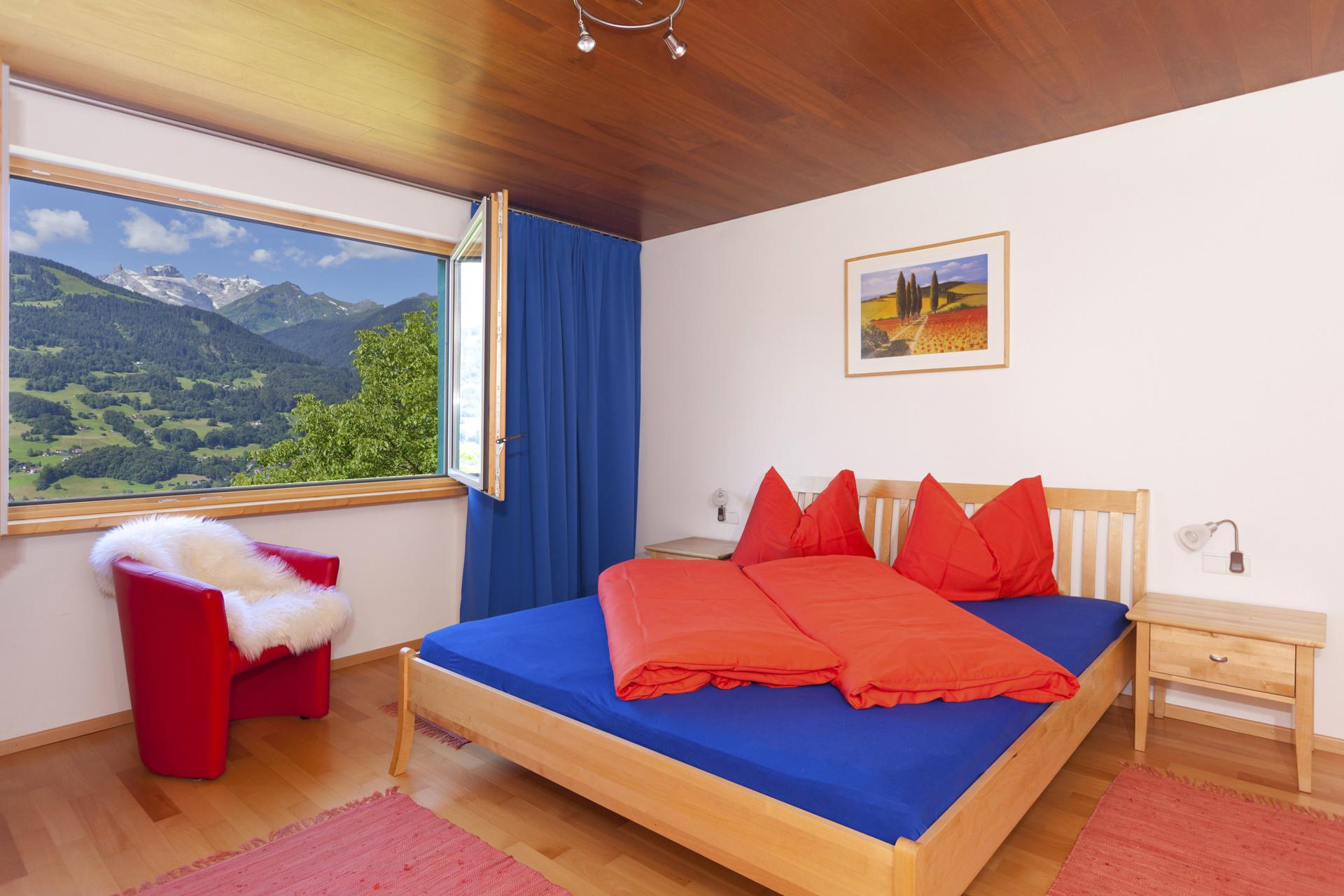 Ferienhaus Grappa Schlafzimmer 1